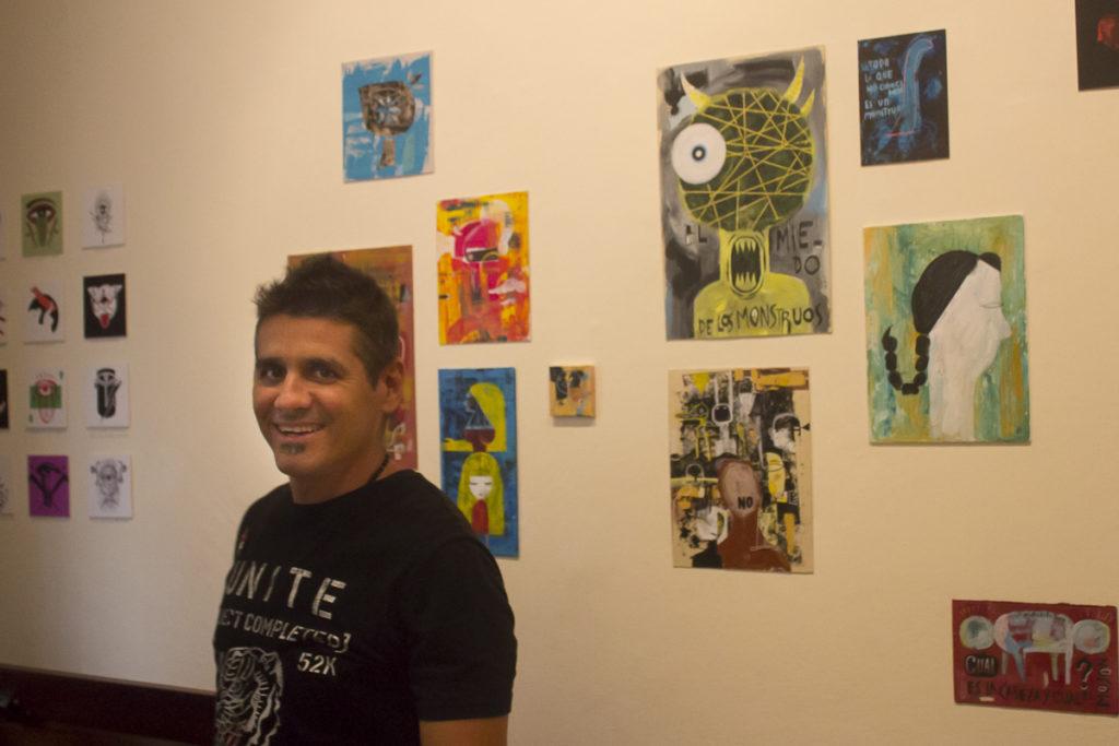 Nelson Ponce. Exposición Cabeza Loca.