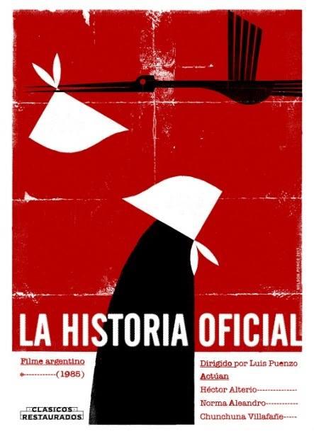 La Historia Oficial. Cartel de Nelson Ponce.