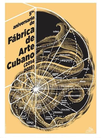 Claudio Sotolongo. 5to aniversario Fábrica de Arte Cubano.