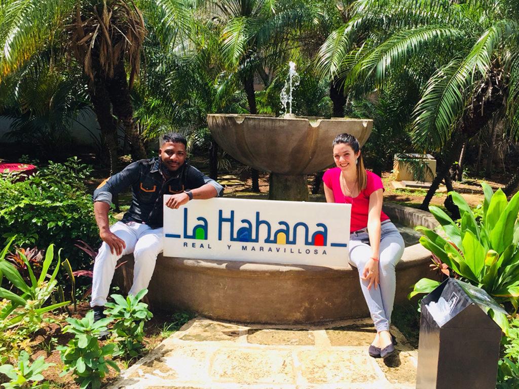 Campaña Habana 500. Biadice Quiñones y Joan Mendoza.