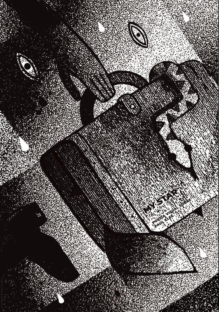 Darwin Fornés Báez. Diseñador cubano. Cartel. Cantus Machina. Paul Klee.