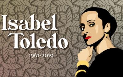 """Isabel Toledo: """"La costurera es la que conoce la moda por dentro"""""""
