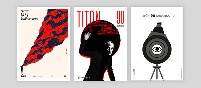 Premios del concurso de carteles Titón 90 aniversario