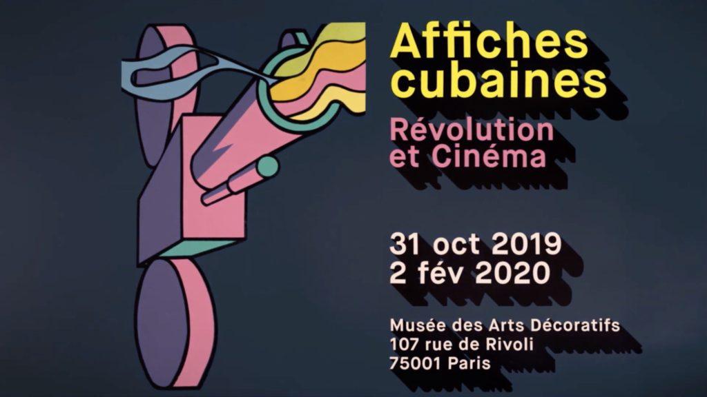 Exposición de carteles cubanos en París.