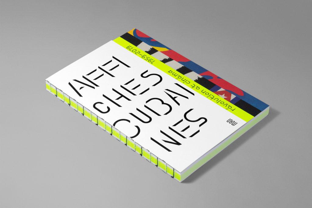Catálogo de la exposición de carteles cubanos en París.