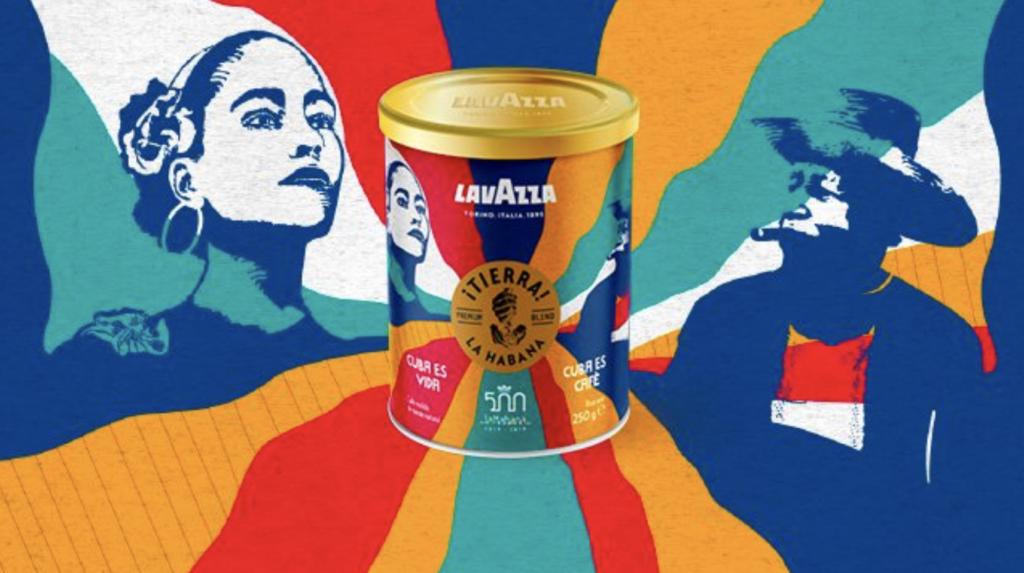 Lavazza edición especial de café Tierra! La Habana