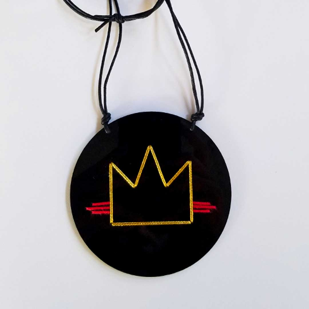 Basquiat Crown. Serie DRAW.