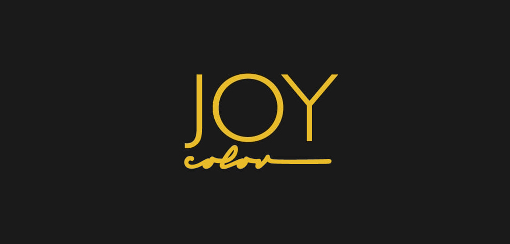 Logo Joy Color. Yamile Salomón Infante.