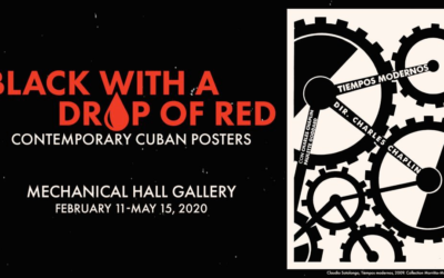 """Black with a drop of red"", carteles cubanos en Delaware"