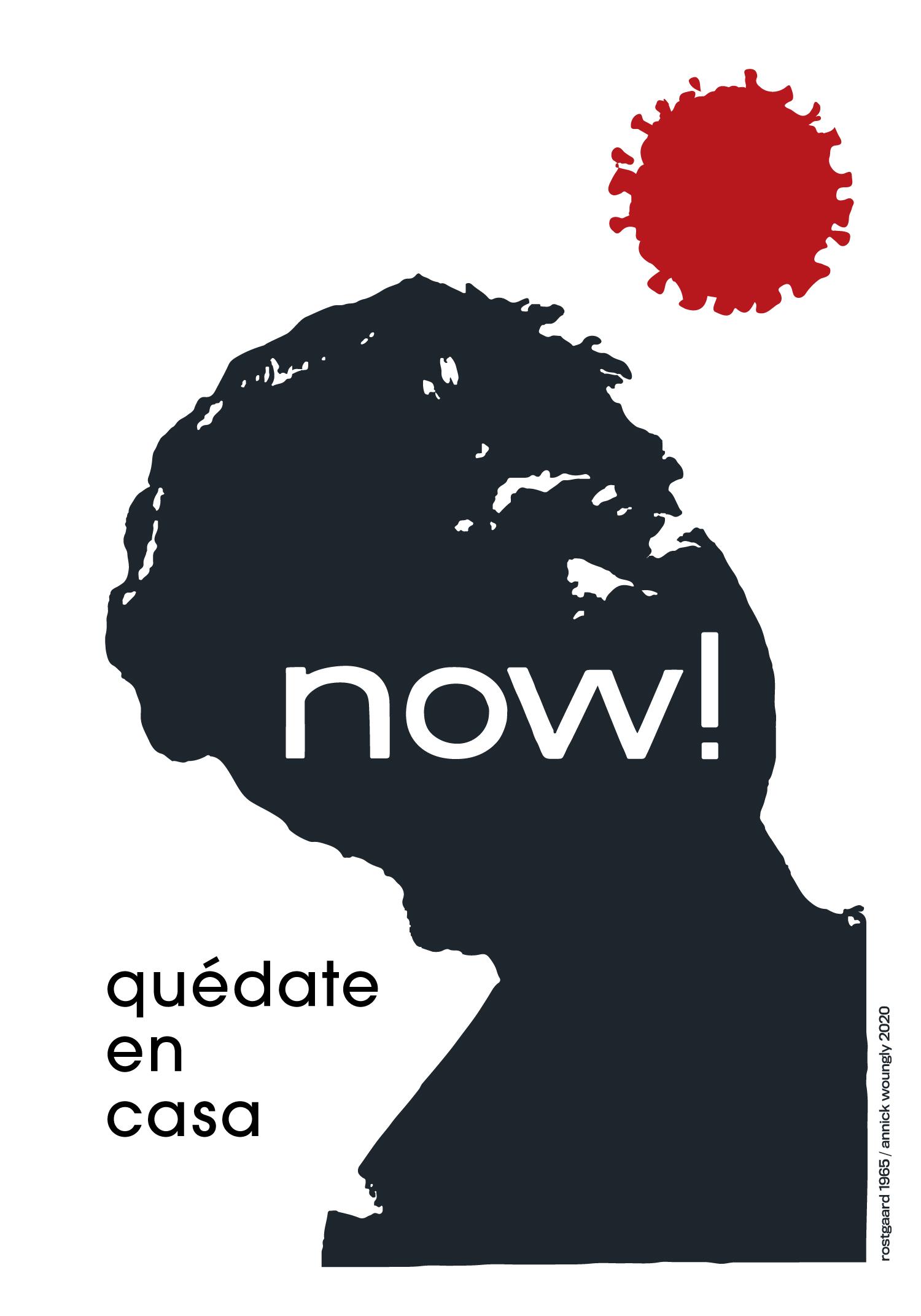 El cartel cubano en los tiempos del coronavirus. Now. Rostgaard 1965