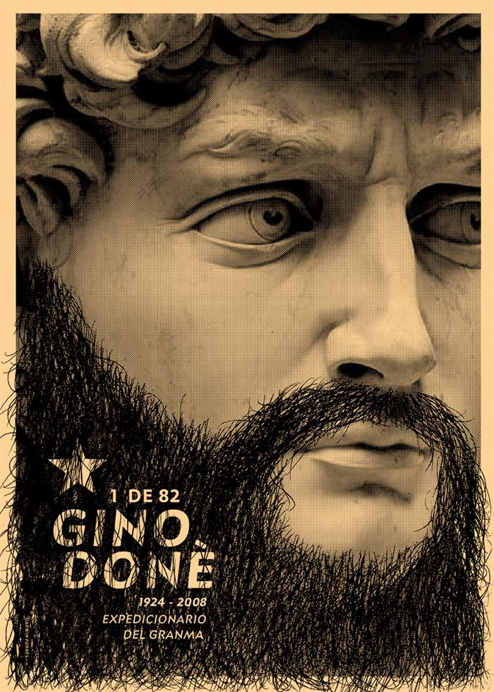 Darwin Fornés Báez. Diseñador cubano. Homenaje a Gino Done.