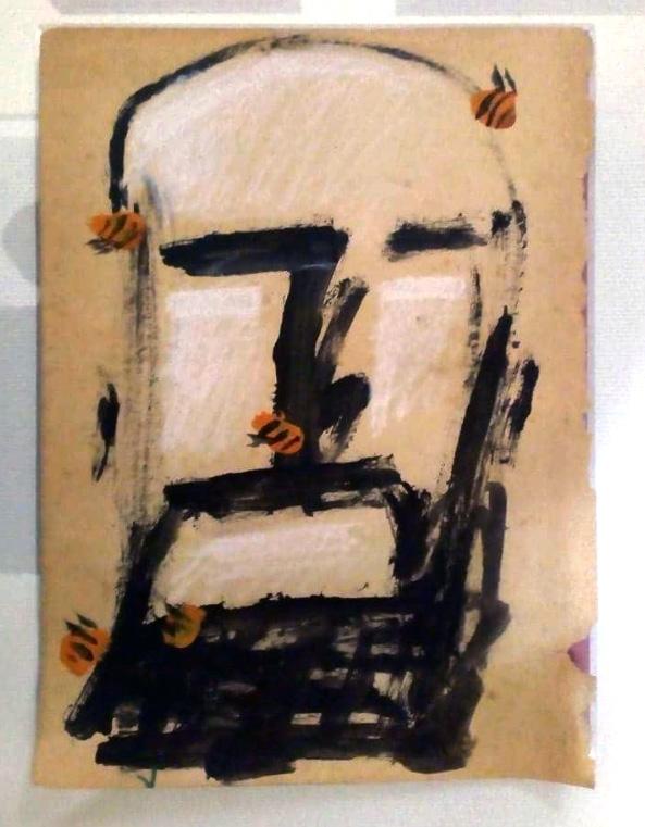 Darwin Fornés Báez. Diseñador cubano. Hombre de miel. Exposición Ilustreichon Nao.