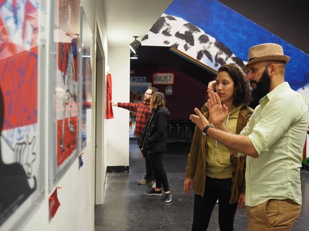 Darwin Fornés. Seattle. Opening de Happy Together en The VeraProject.