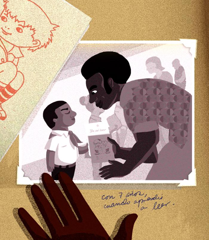 Darwin Fornés Báez. Diseñador cubano. Ilustraciones para UNICEF Cuba.