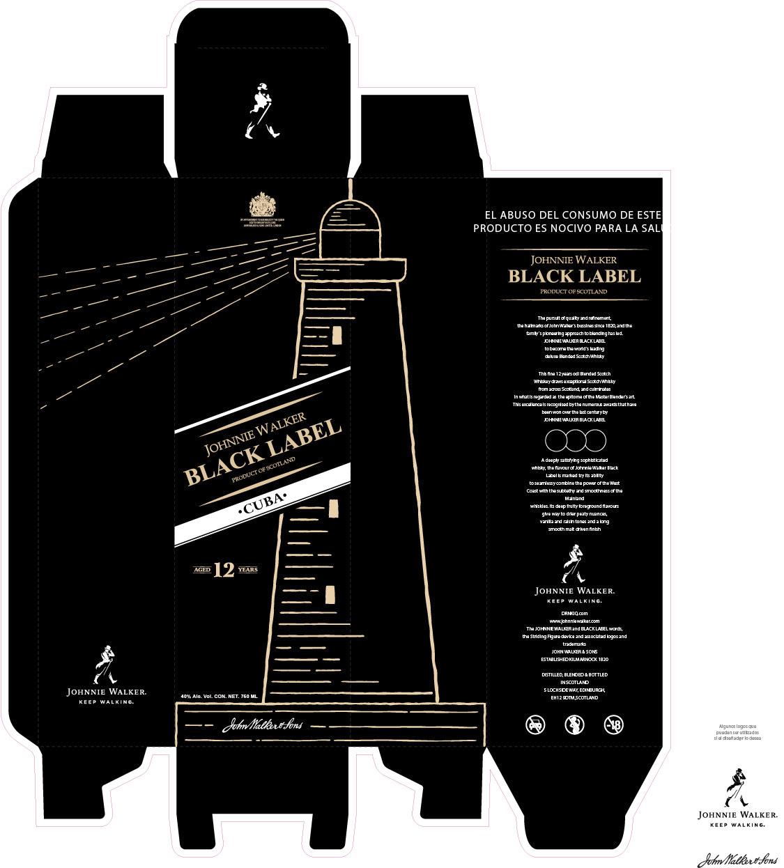 Concurso Johnnie Walker Keep Designing. Selección. José Manuel Arnedo.