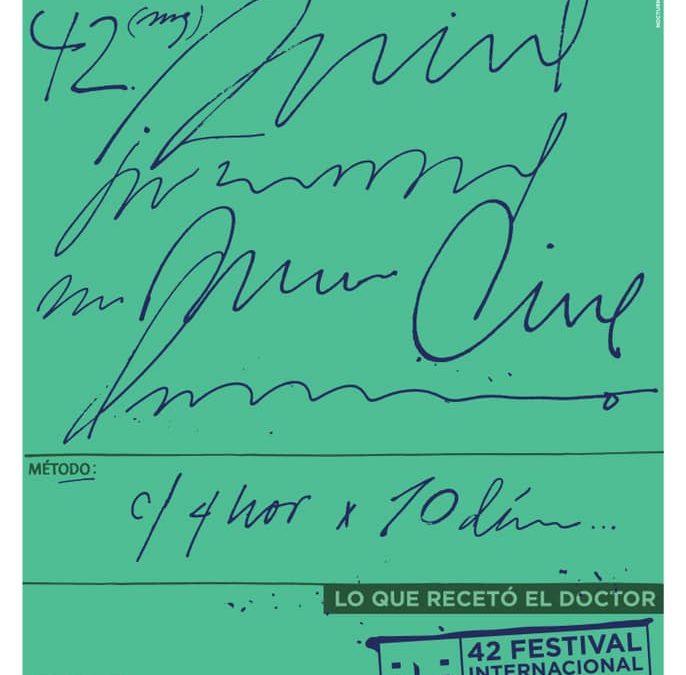 Cartel del 42 Festival de Cine de La Habana: un homenaje al personal médico durante la pandemia