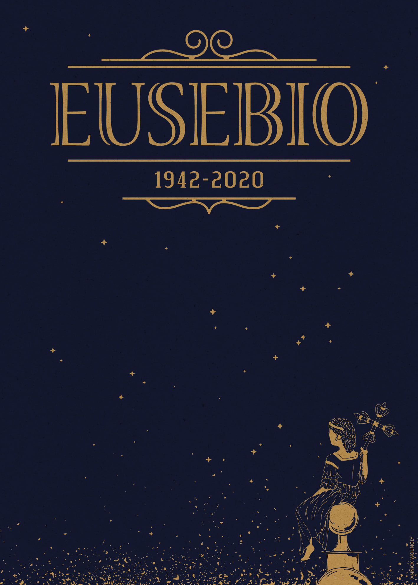 Annick Woungly. Homenaje a Eusebio Leal.