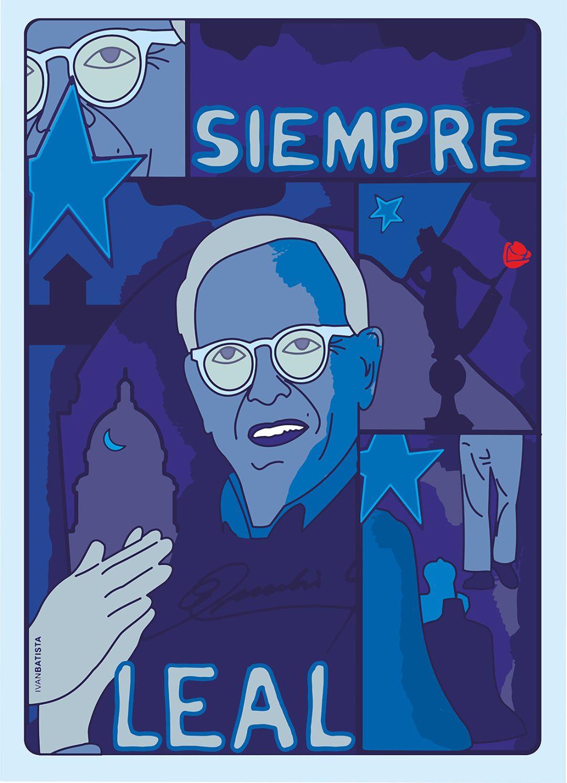 Iván Batista. Homenaje a Eusebio Leal.