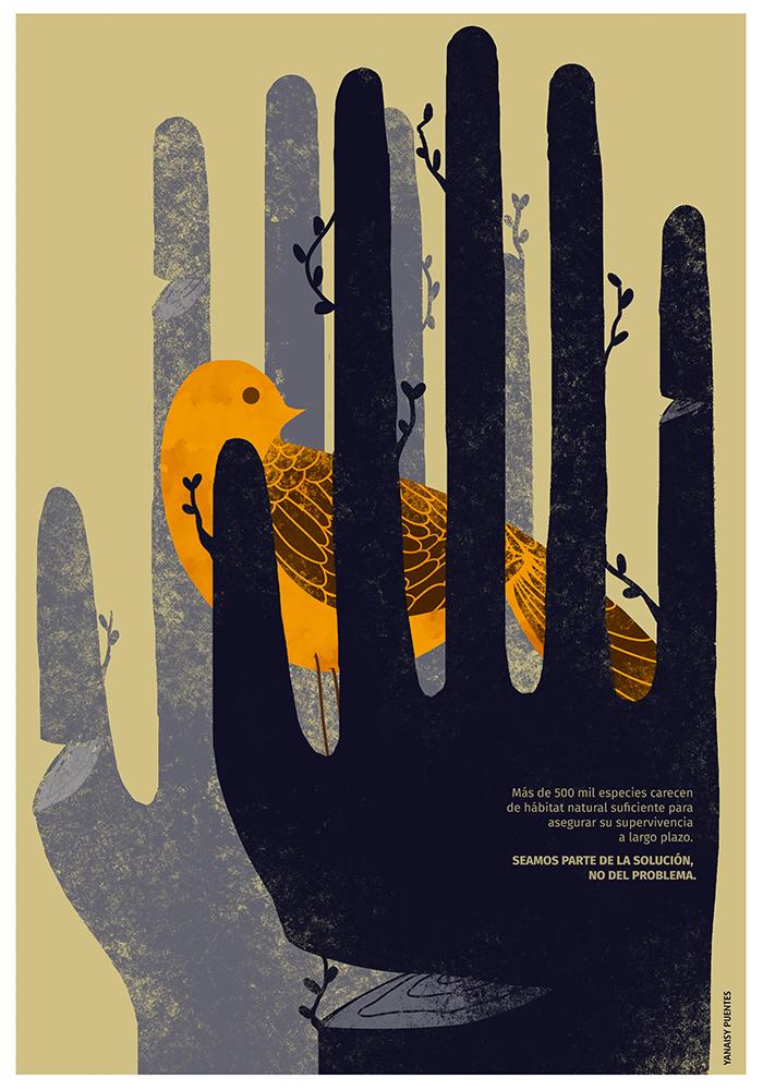 Yanaisy Puentes. Diseñadora e ilustradora cubana.