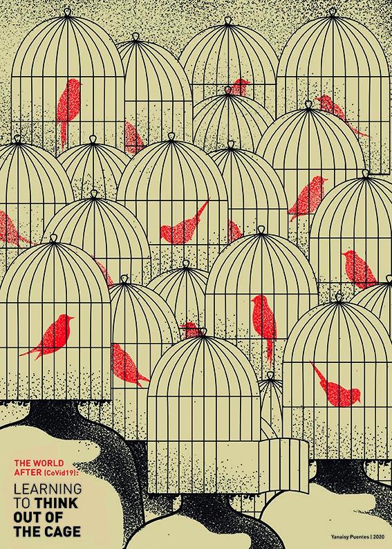 Yanaisy Puentes. Diseñadora e ilustradora cubana. The World after.
