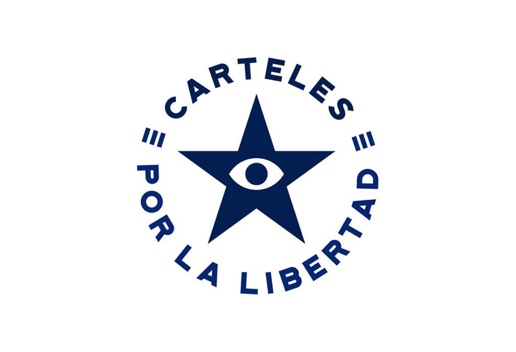 Carteles por la Libertad. Logo.