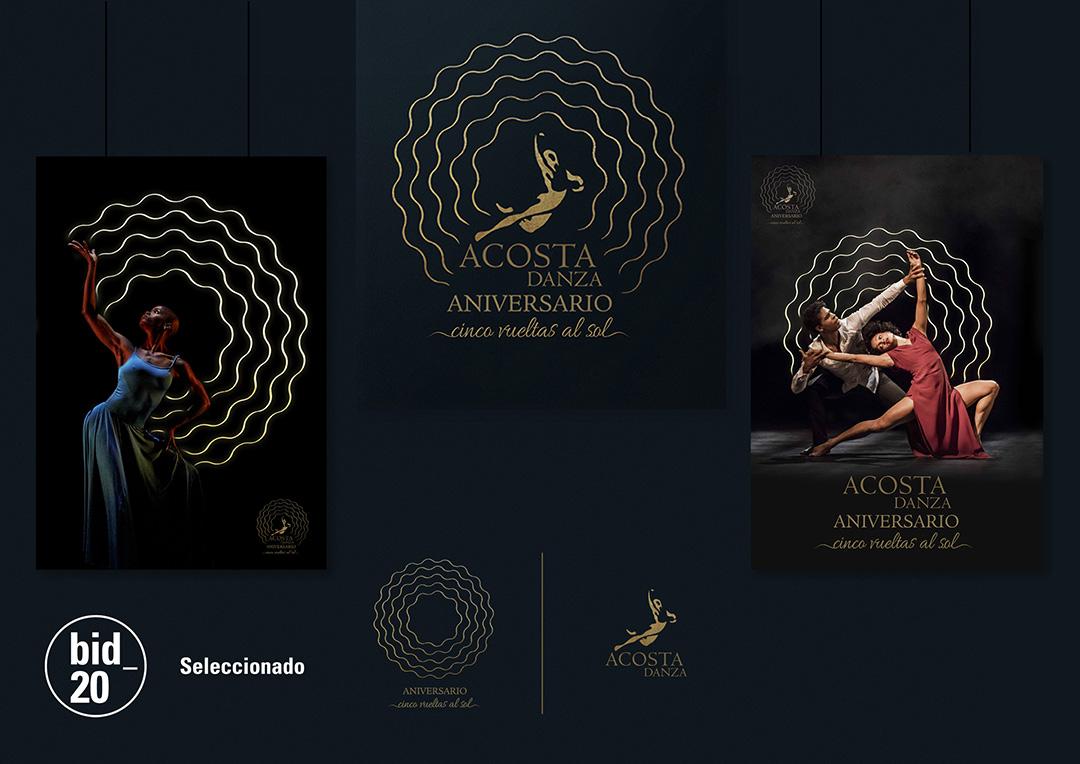 Yanaisy Puentes. Diseñadora e ilustradora cubana. Gráfica para la compañía Acosta Danza.