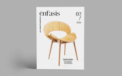 Nuevo número de la revista Énfasis, dedicado al diseño industrial