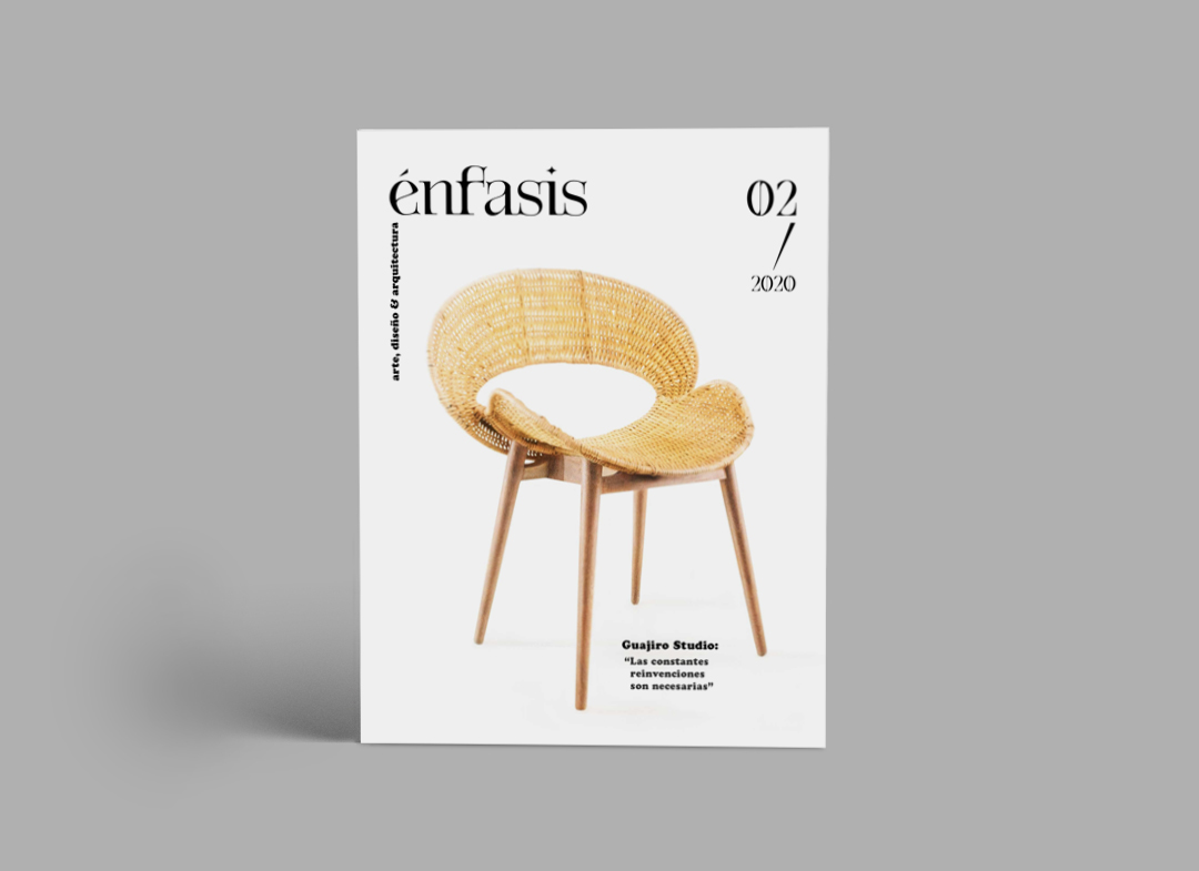 Revista Énfasis. Diseño. Cuba.