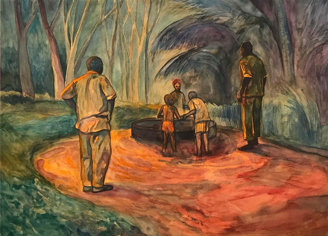 Yaimel López. Exposición en la Vancouver Art Gallery.
