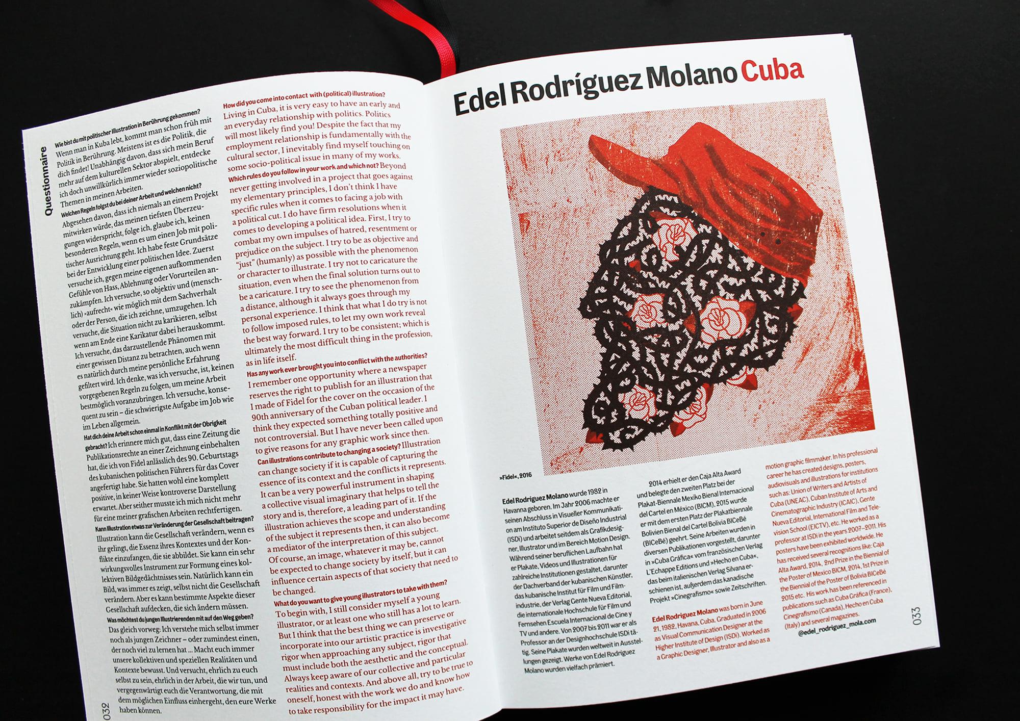 Edel Rodríguez Molano (Mola). Freistil. Das Buch der Illustration.